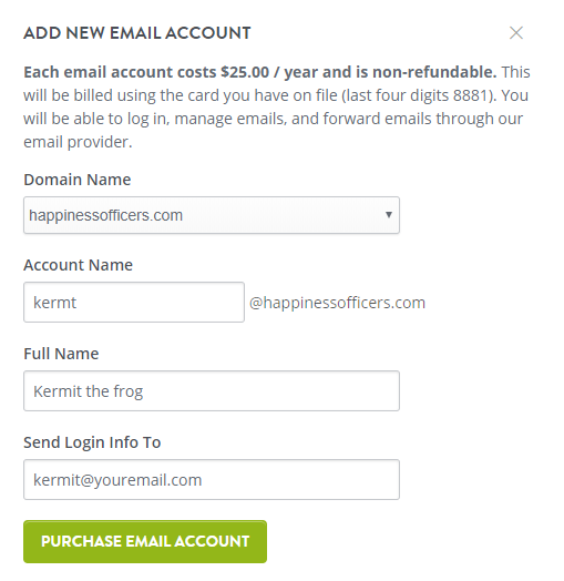 Creating Email Accounts – Strikingly Help Center