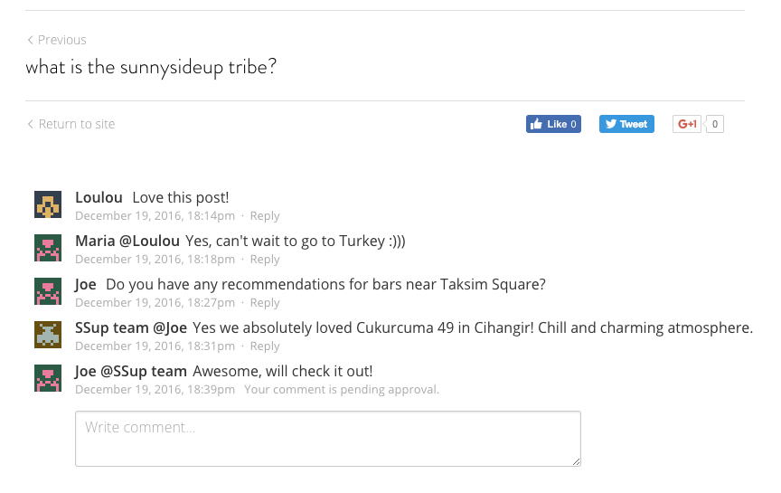 Enable Commenting for Simple Blog – Strikingly Help Center