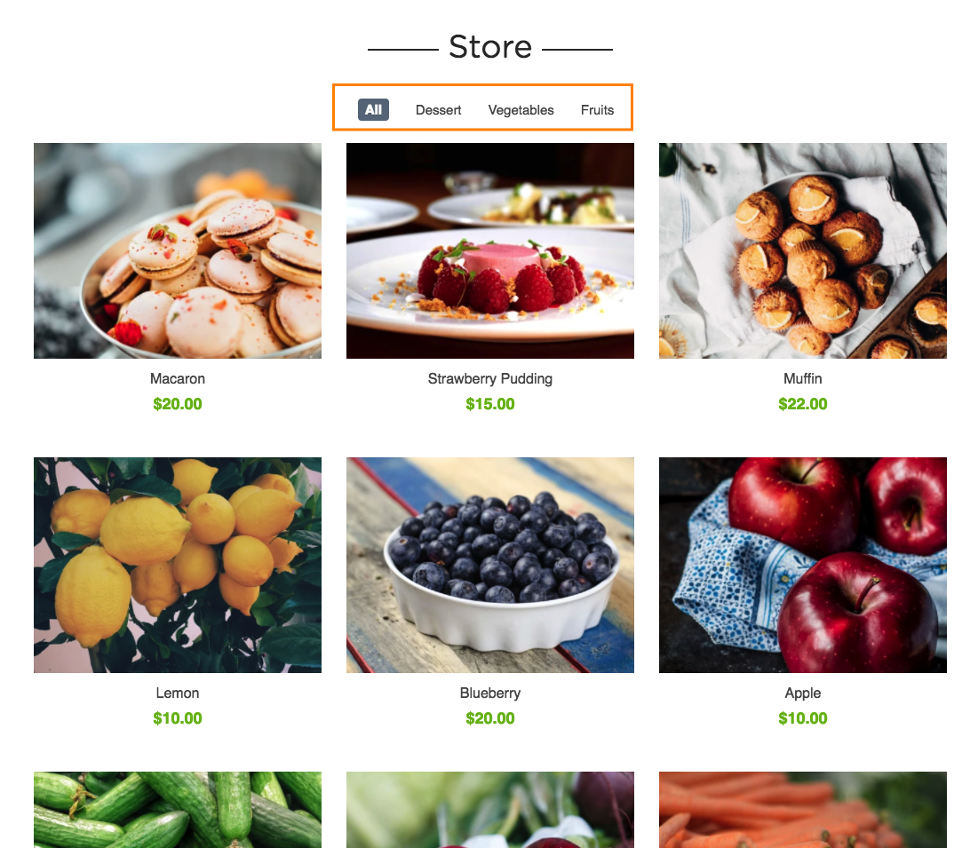 simple store product categorization strikingly help center