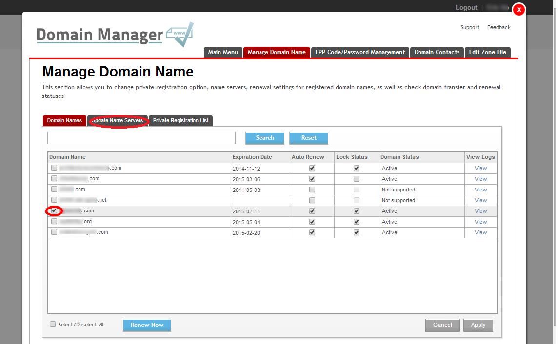 Namecheap FreeDNS / My Registrar has no DNS settings