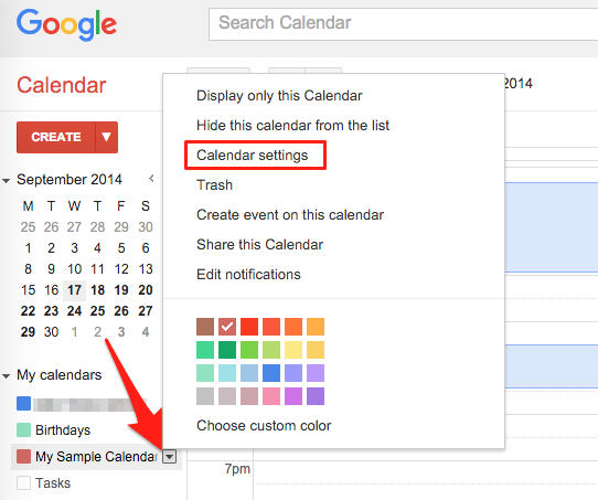Embed Google Calendar – Strikingly Help Center