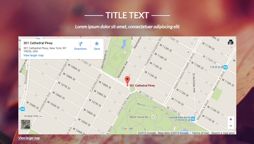 Embed Google Map – Strikingly Help Center on